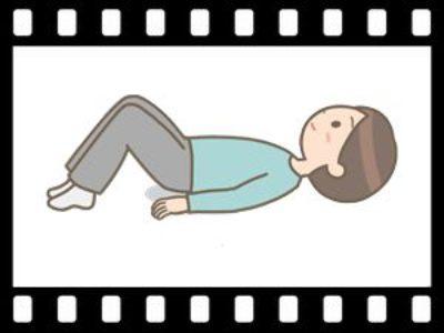ストレッチと骨盤庭筋トレーニング 動画で説明